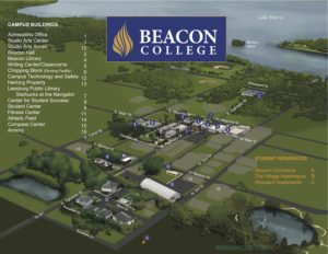 Beacon Campus Map
