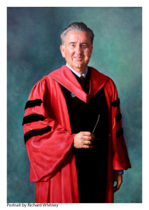 Dr. Hagerty Credited Portrait