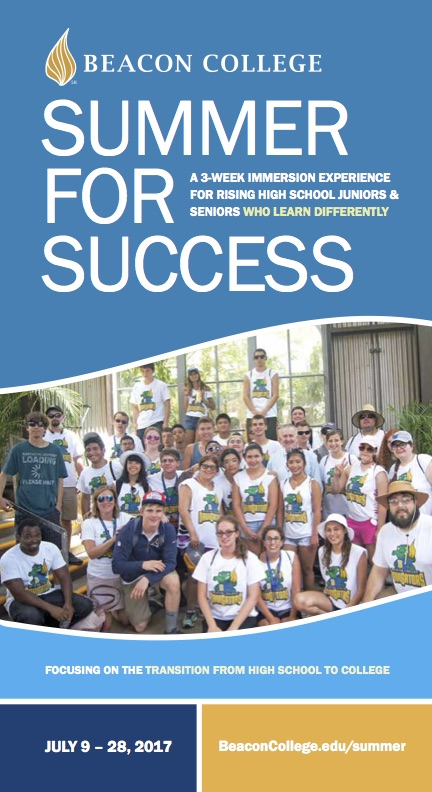 2017 Summer for Success Brochure thumbnail