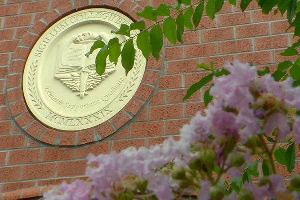 Beacon Campus seal flowers 01