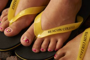 Beacon College flipflops