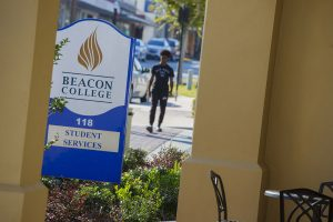 Beacon College sign