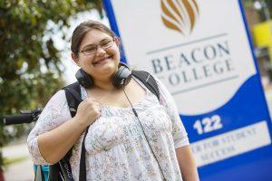 Successful Beacon College Student
