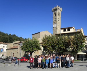 Beacon College Students at Fiesole