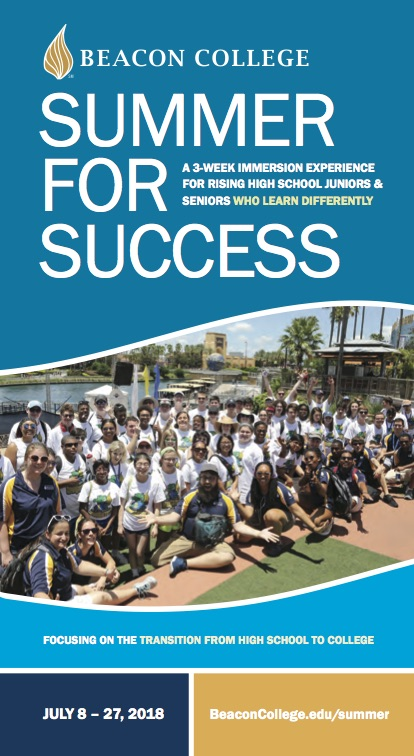 Summer for Success Brochure 2018-2019