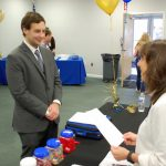 Student at Beacon Job Fair