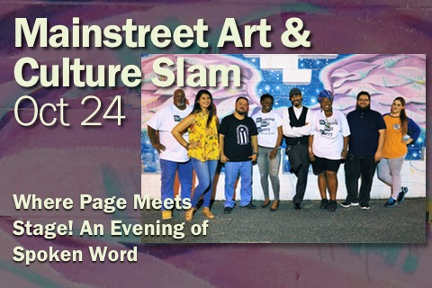 Beacon Salon Series - Mainstreet Art & Culture Slam