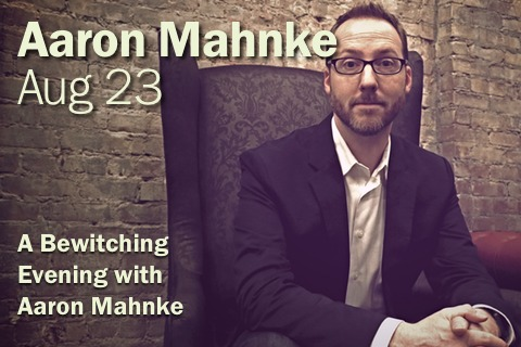 Beacon Salon Aug 23 2018 - A Bewitching Evening with Aaron Mahnke