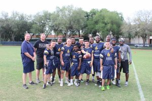 Beacon College Flag Football Team