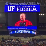 Dr Hagerty on Jumbotron