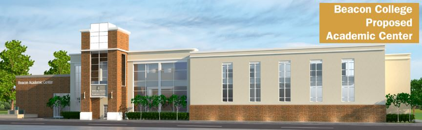 Academic Building Rendering