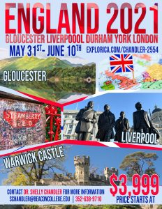 Travel Abroad - England 2021