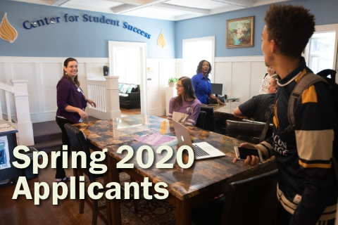 Spring 2020 Applications Now Being Accepted
