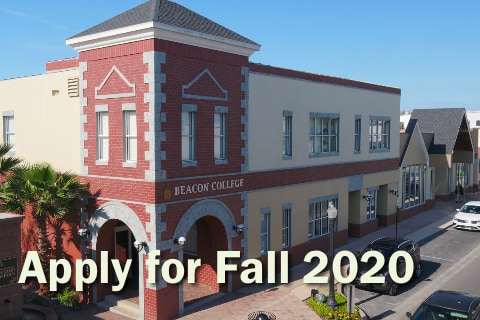 Apply now for Fall 2020