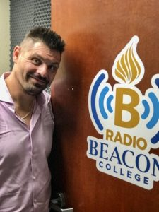 Sopel at Radio Beacon