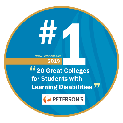 Number 1 College for Students with Learning Disabilities - Peterson's 2019