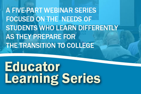 Professional Educator Learning Series