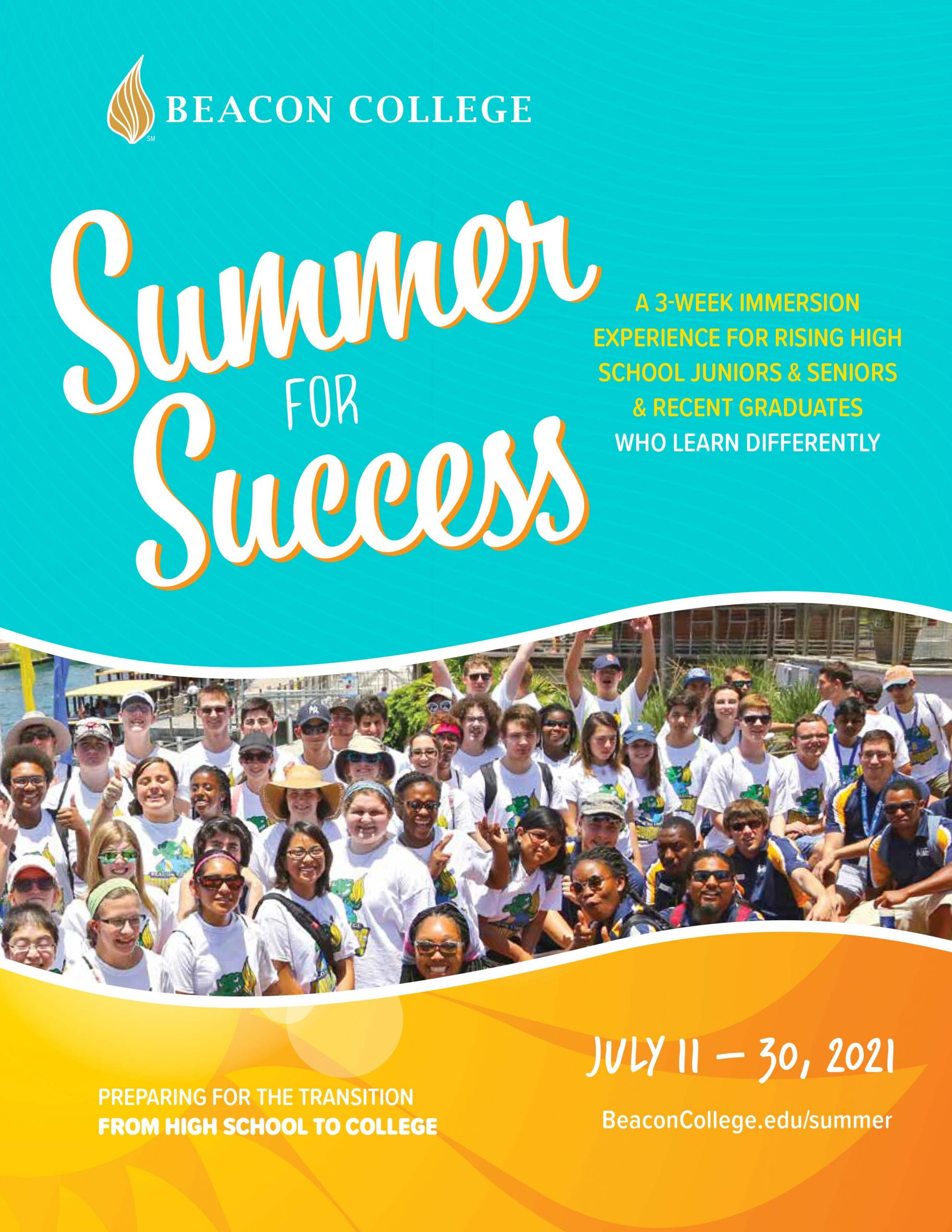 Summer for Success Brochure Cover