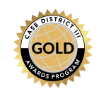 2021 Council for Advancement and Support of Education (CASE) District III Awards Gold