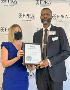Darryl FPRA awards 2021