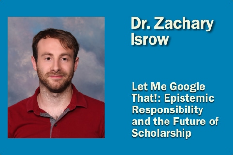 Zachary Isrow Lecture