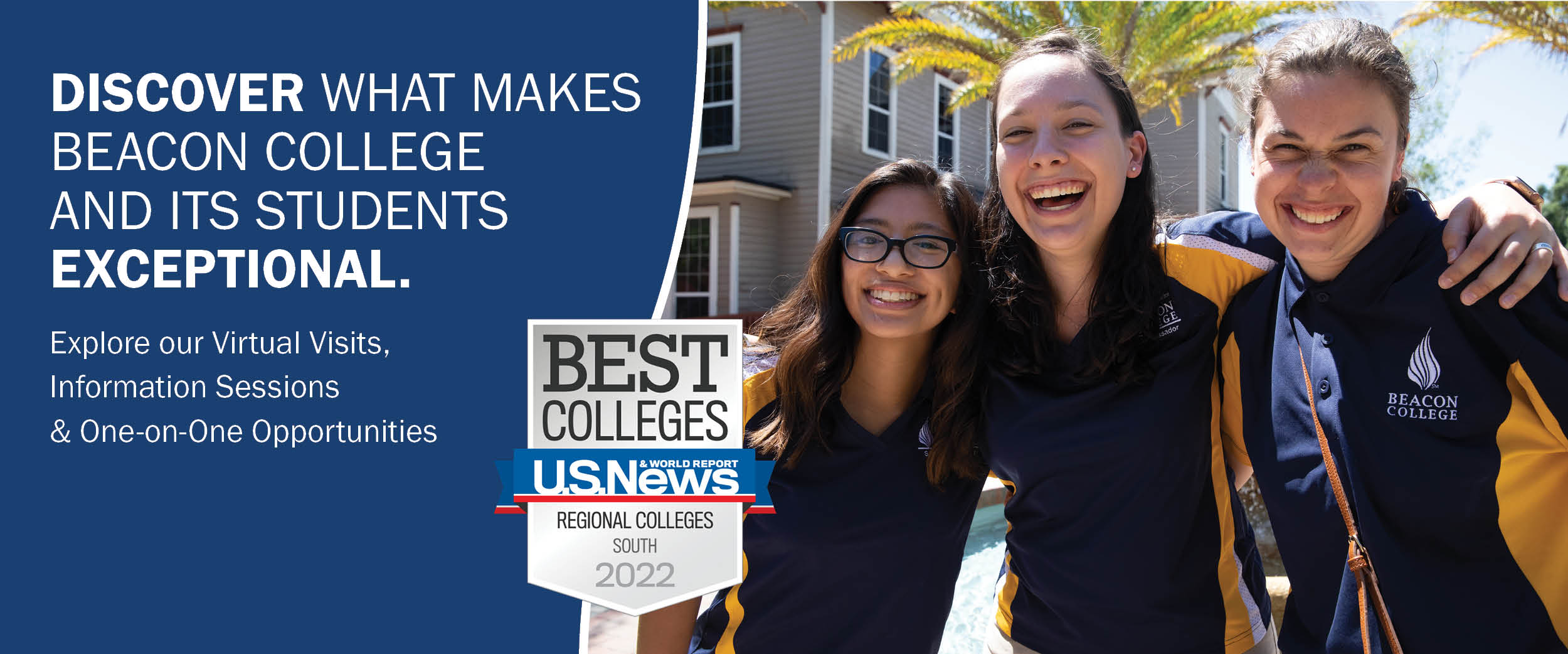 Visit Virtually - Discover What Makes Beacon College and Its Students Exceptional